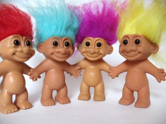 Retro Kimmer Loves Troll Dolls
