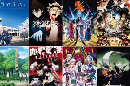 40 Daftar Anime 2017 Terbaik dan Terpopuler [Tiap Season]