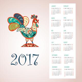 2017カレンダー無料テンプレート92