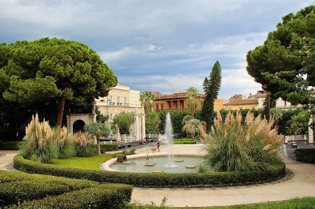 Villa Bellini em Catania