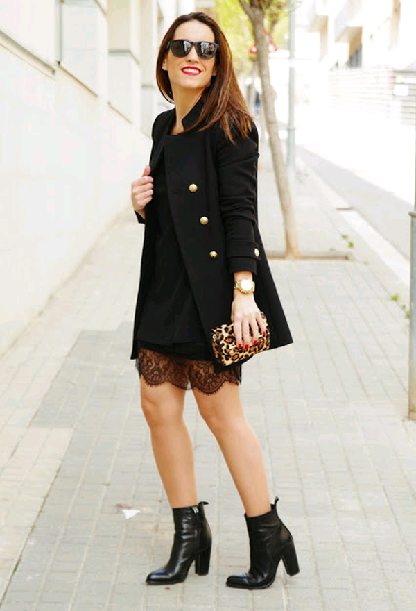 Outfits Con Botines Cafes 2016