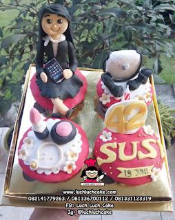 Cupcake Tema Wanita Karir
