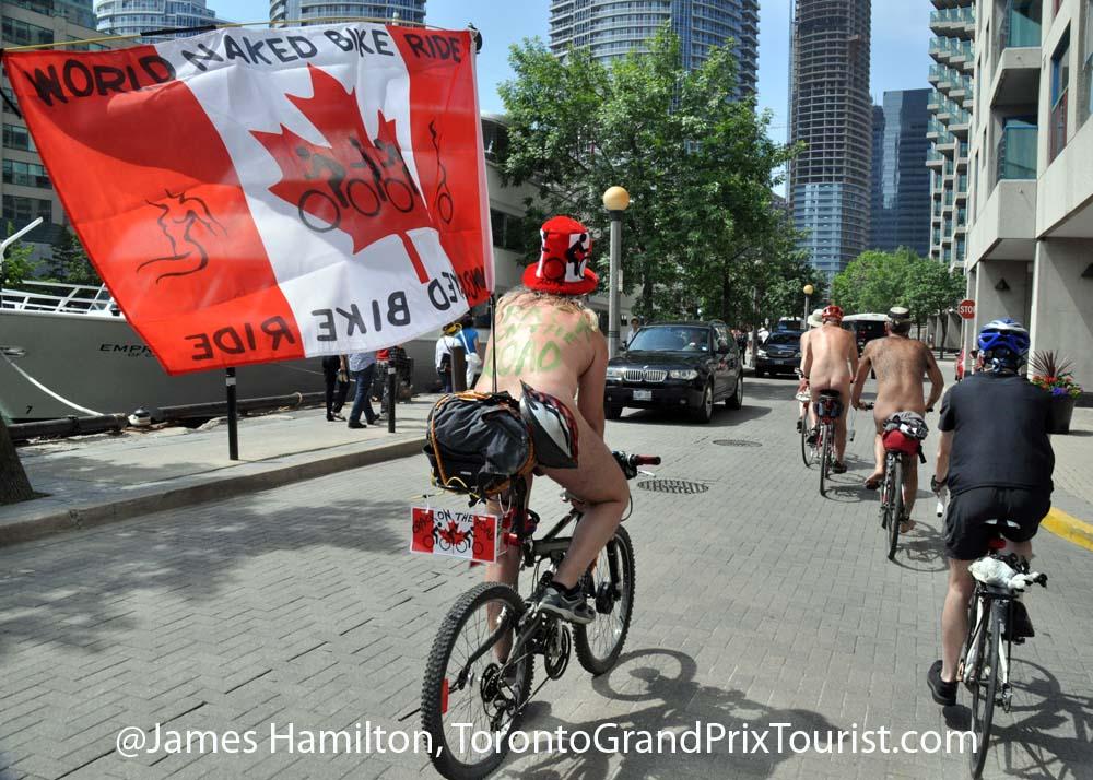 toronto ride World bike naked