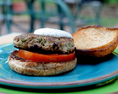 Jerusalem Turkey Burgers with Zucchini