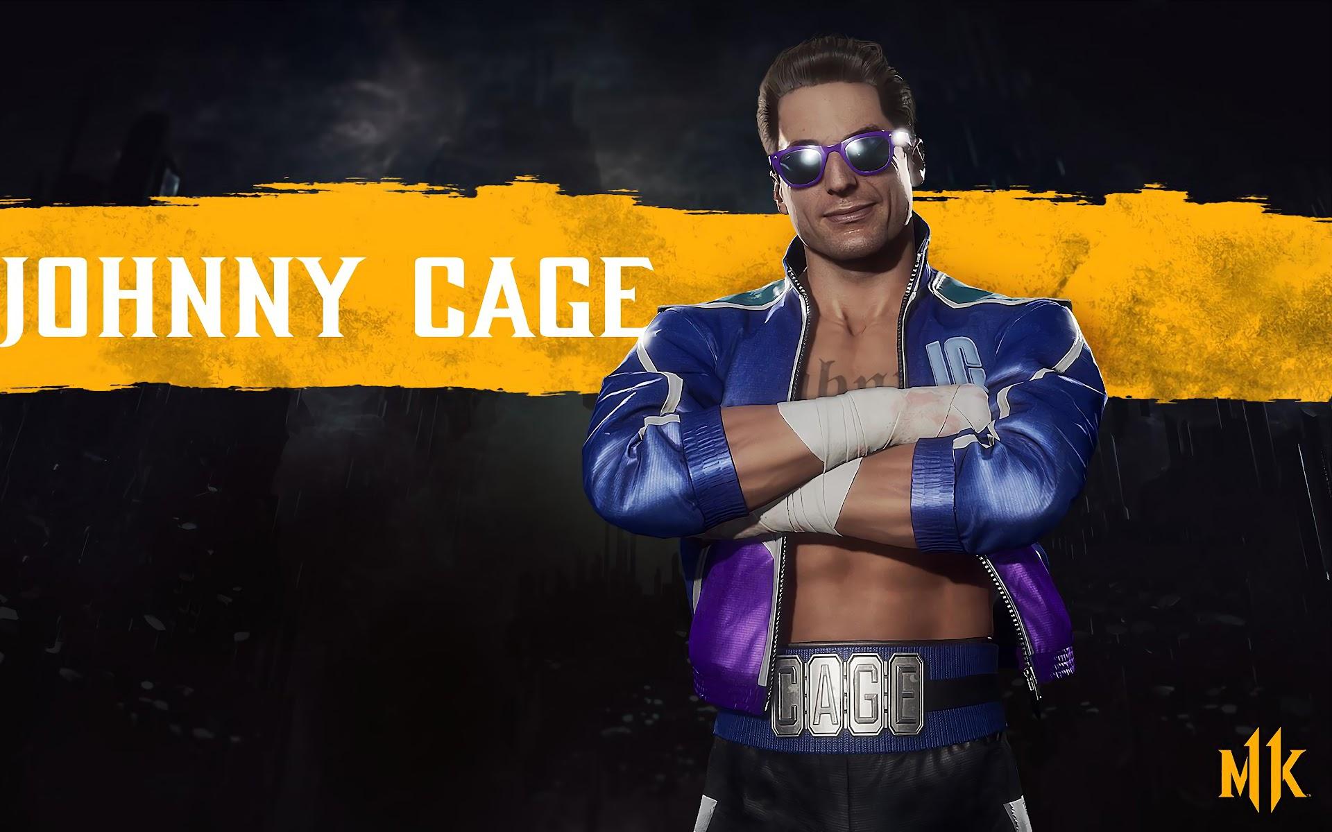 Johnny Cage, Mortal Kombat 11, 4K, #30 Wallpaper
