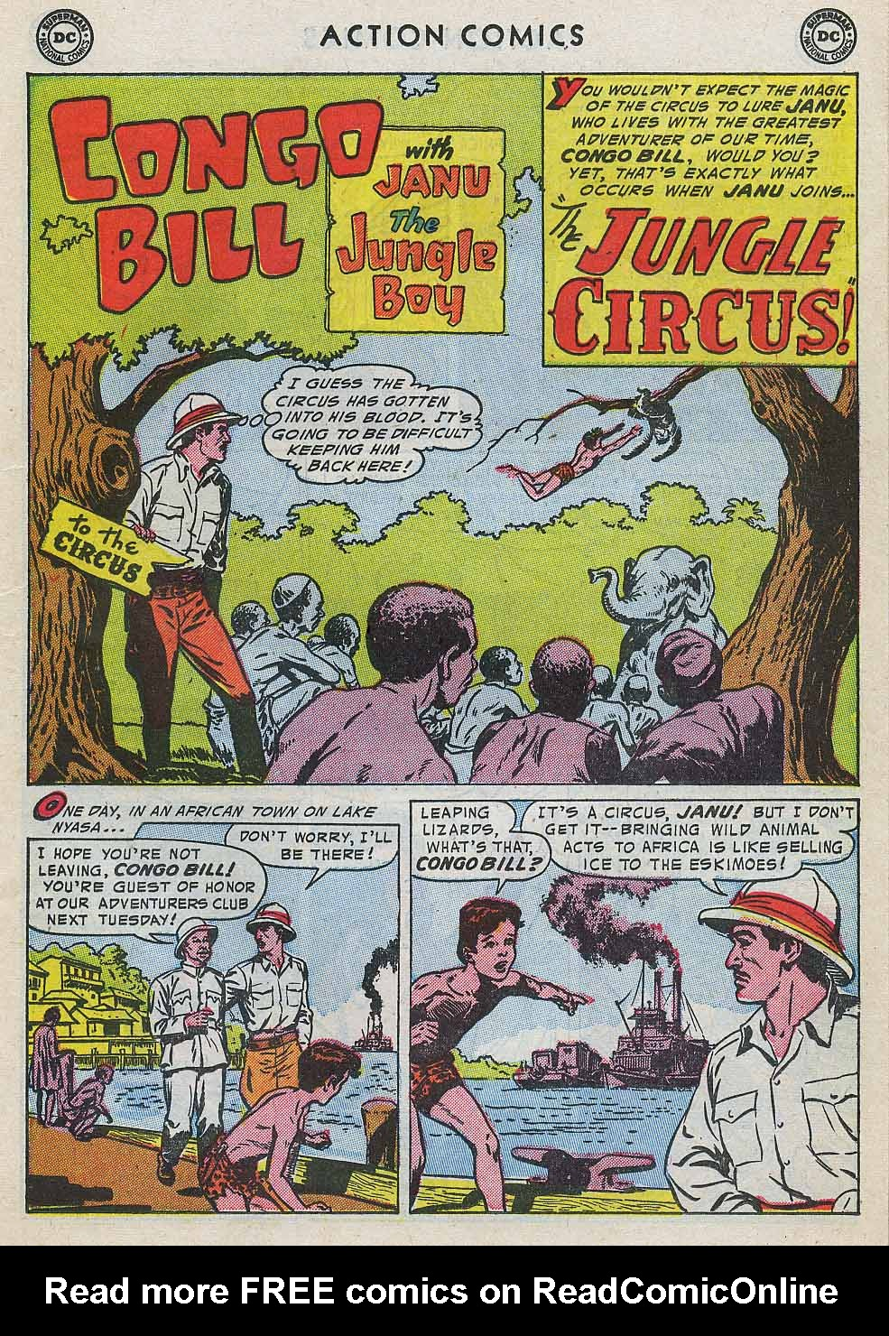 Read online Action Comics (1938) comic -  Issue #196 - 17