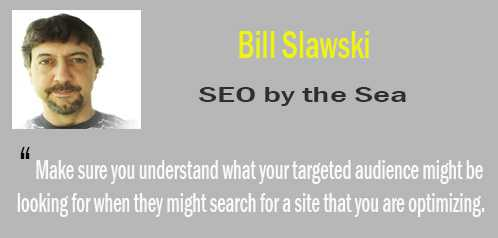 bill slawski - tips SEO