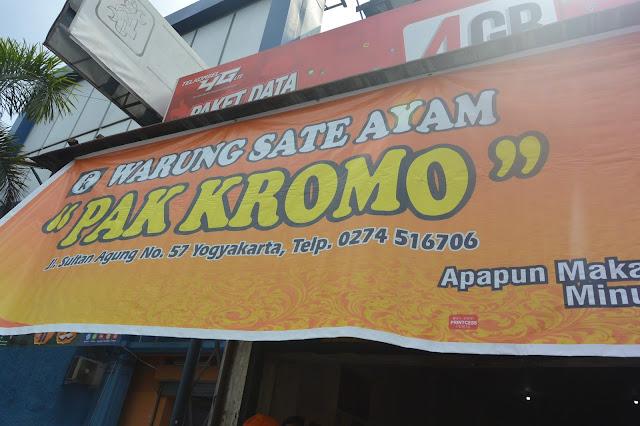 Sate Ayam Pak Kromo
