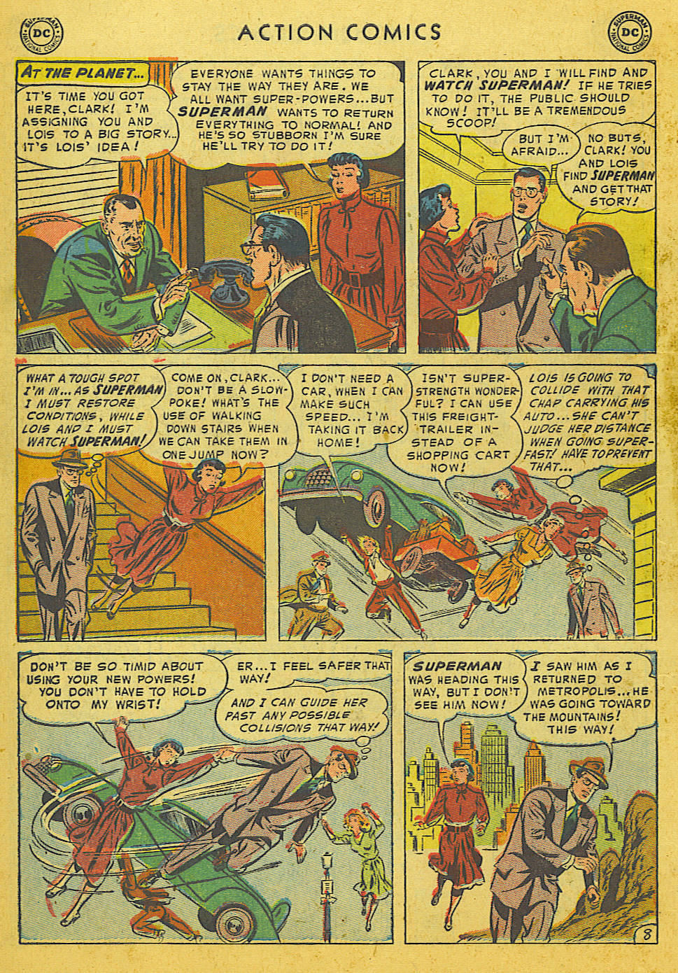 Read online Action Comics (1938) comic -  Issue #186 - 10
