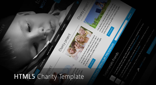 Free HTML5 Charity Center Template