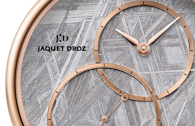 "Jaquet Droz Grande Seconde Off-Centered ""Meteorite"""