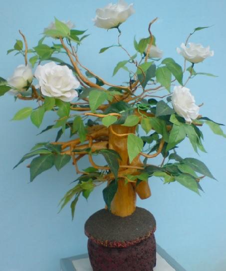 Cara Membuat Bunga Dari Akar Pohon Kayu Www Arlo Web Id