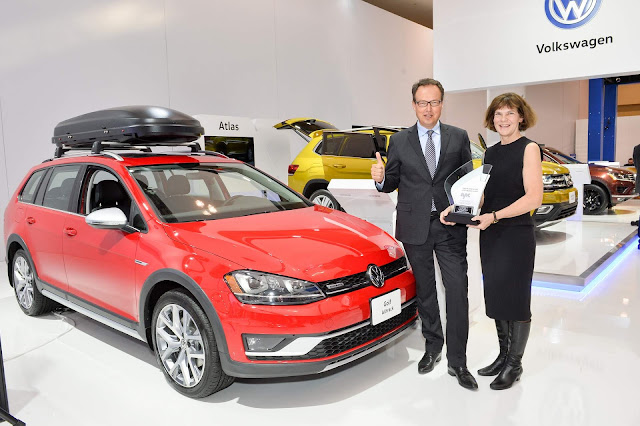 VW Golf Alltrack 2017