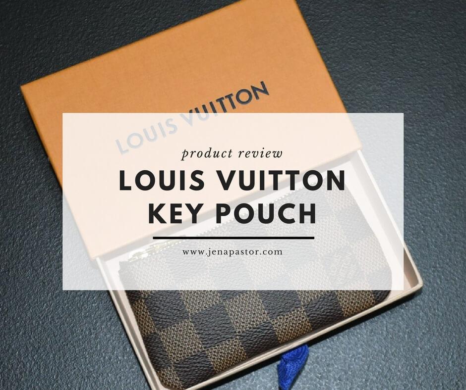 louis vuitton key pouch product review