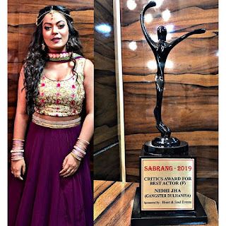 nidhi jha award