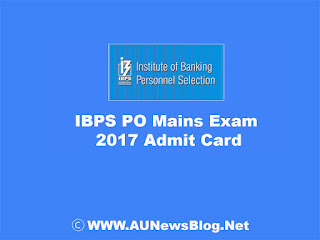 {Download} IBPS Probationary Officers (PO) Mains Call Letter 2017