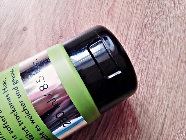 PERFECT.ME, Natural Oils Repair - Szampon odbudowujący do włosów suchych, szorstkich i zniszczonych, zamknięcie opakowania