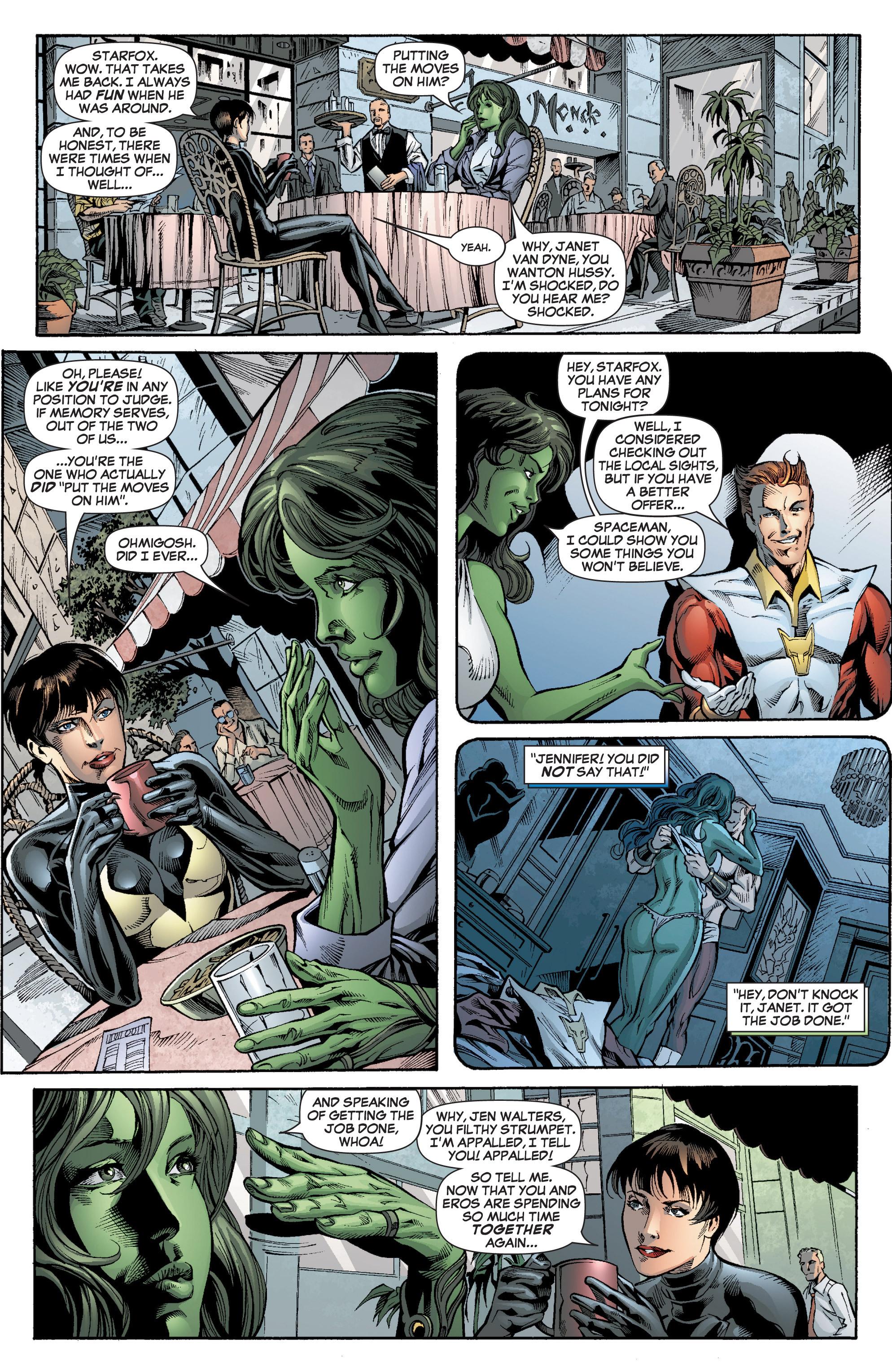 Read online She-Hulk (2005) comic -  Issue #7 - 13