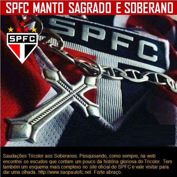 SPFC - Distintivos dos clubes antecessores ao Soberano