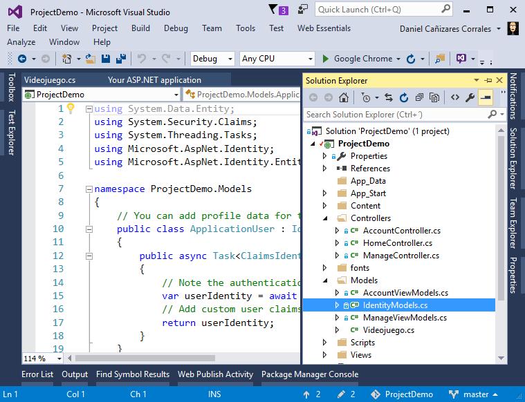 Introducción rápida a ASP.NET MVC