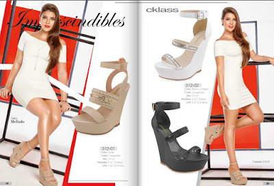 Cklass 2016 colección damas CV  : zapatos moda