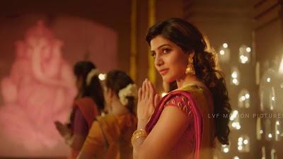 Samantha Ruth Prabhu Gorgeous HD Image In Mersal Movie