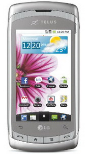 LG Shine Plus for Telus