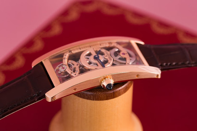 Réplicas De Relojes Cartier Tank Cintrée Skeleton Revisión