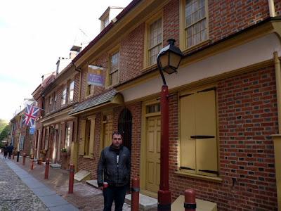 Calle residencial más antigua de los Estados Unidos, FIladelfia