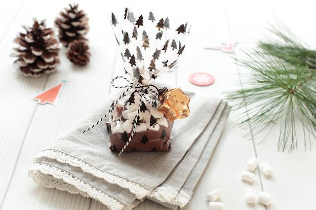 Zimtschokolade mit Marshmellows