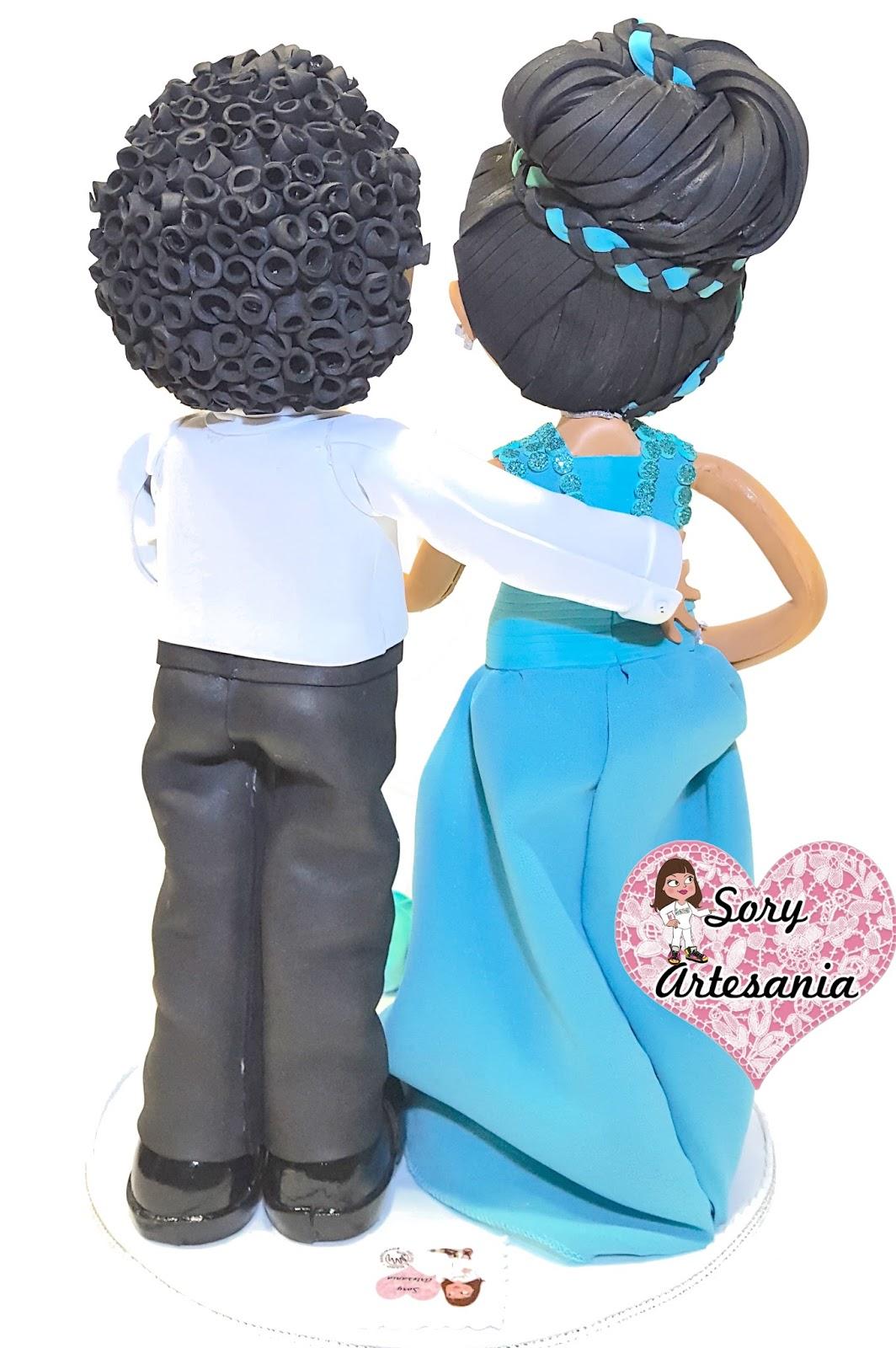 SoryArtesania: Fofu-Novios💘 💐 Roxana&Benito