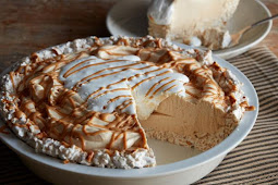 No-Bake Peanut Butter Pie #desserts #cakerecipe