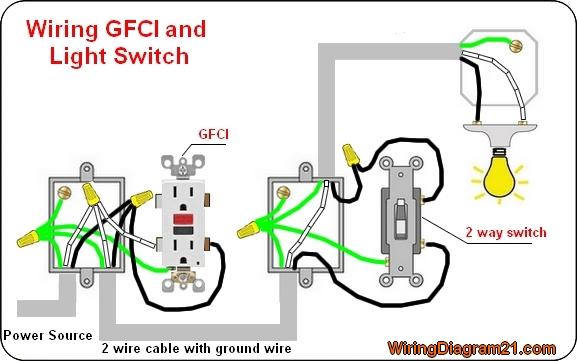 Gfi Wiring Schematic Wiring Schematic Diagram