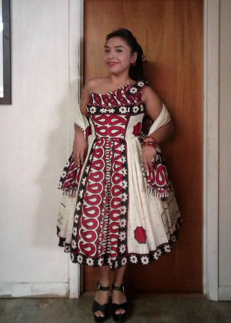 Flashback Summer: Intercultural Vintage fashion - Nassau's Mademoiselle dress - khanga