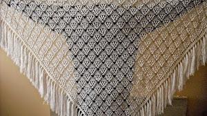 Patrones crochet de magnífico chal