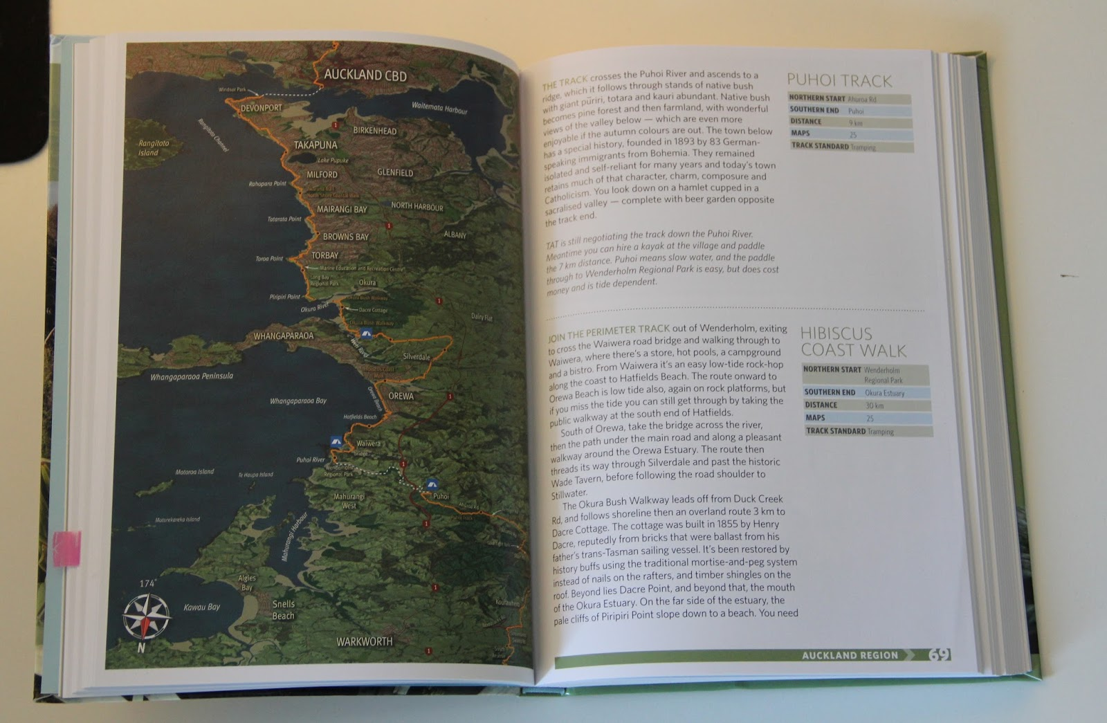 Buch Review: A Walking Guide to New Zealand\'s Long Trail: Te ...