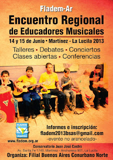 Fladem - Ar Encuentro Regional de Educadores Musicales