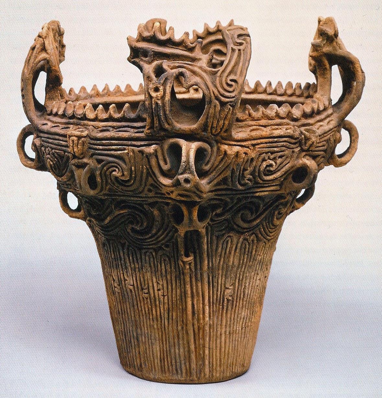 Rachel Dorn Ceramic Sculpture: Jomon Pottery Class