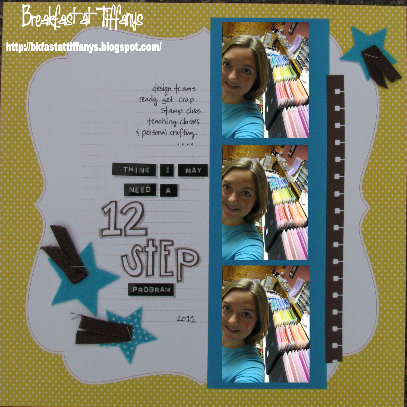 Breakfast @ Tiffany's!: Step by Step at Scrap It With a Song! - photo#22