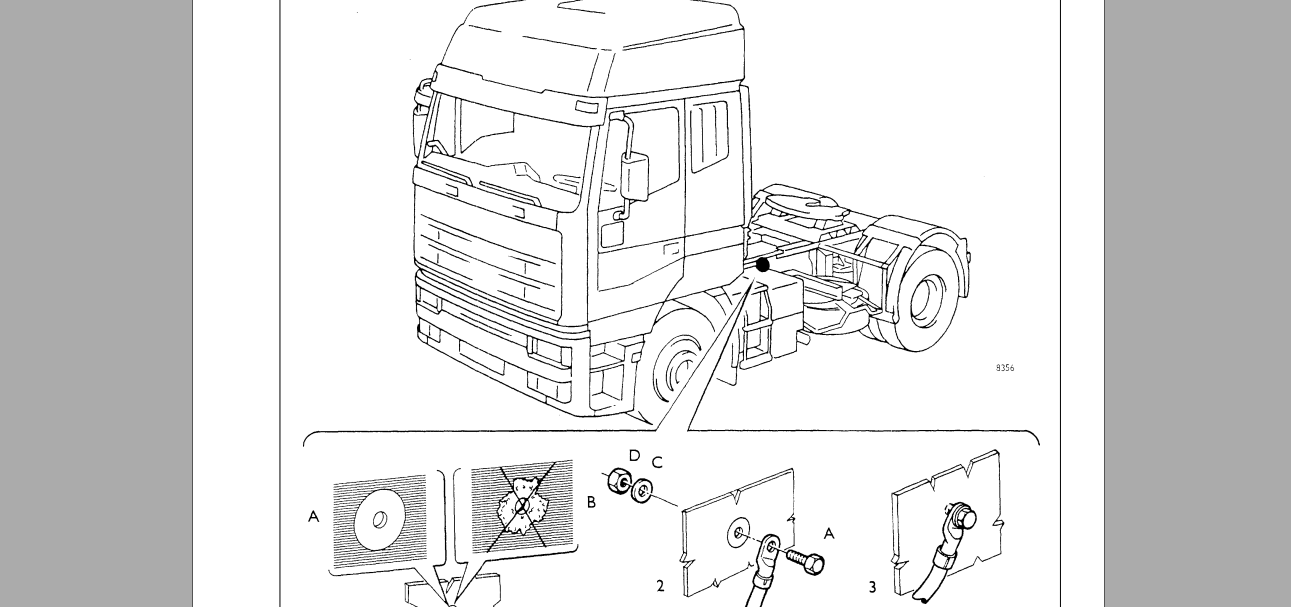 Iveco EuroStar Cursor 430 Electrical Service Manual