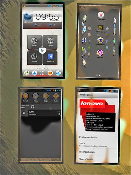 Custom Rom Keren For Evercross A7S