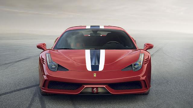 Kereta Ferrari 458 Speciale