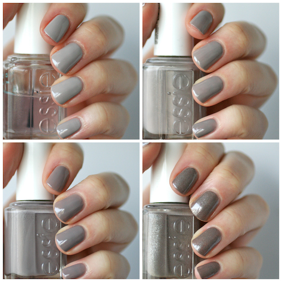 Essie Greige Comparison Chinchilly Take It Outside Master Plan Mochacino Essie Envy