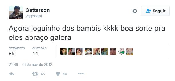 Las redes echan al último fichaje del Sao Paulo por sus tweets