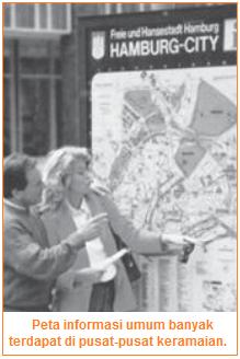 Peta Informasi Umum - Contoh Jenis Peta Berdasarkan Tujuan