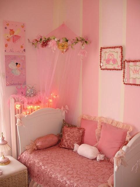 Bricolage e Decorao Ideias para Quartos de Princesa para Meninas
