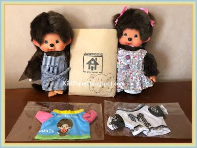 kiki monchhichi toys vintage, plus secret café, limited edition, tokyo, japan, asakusabashi