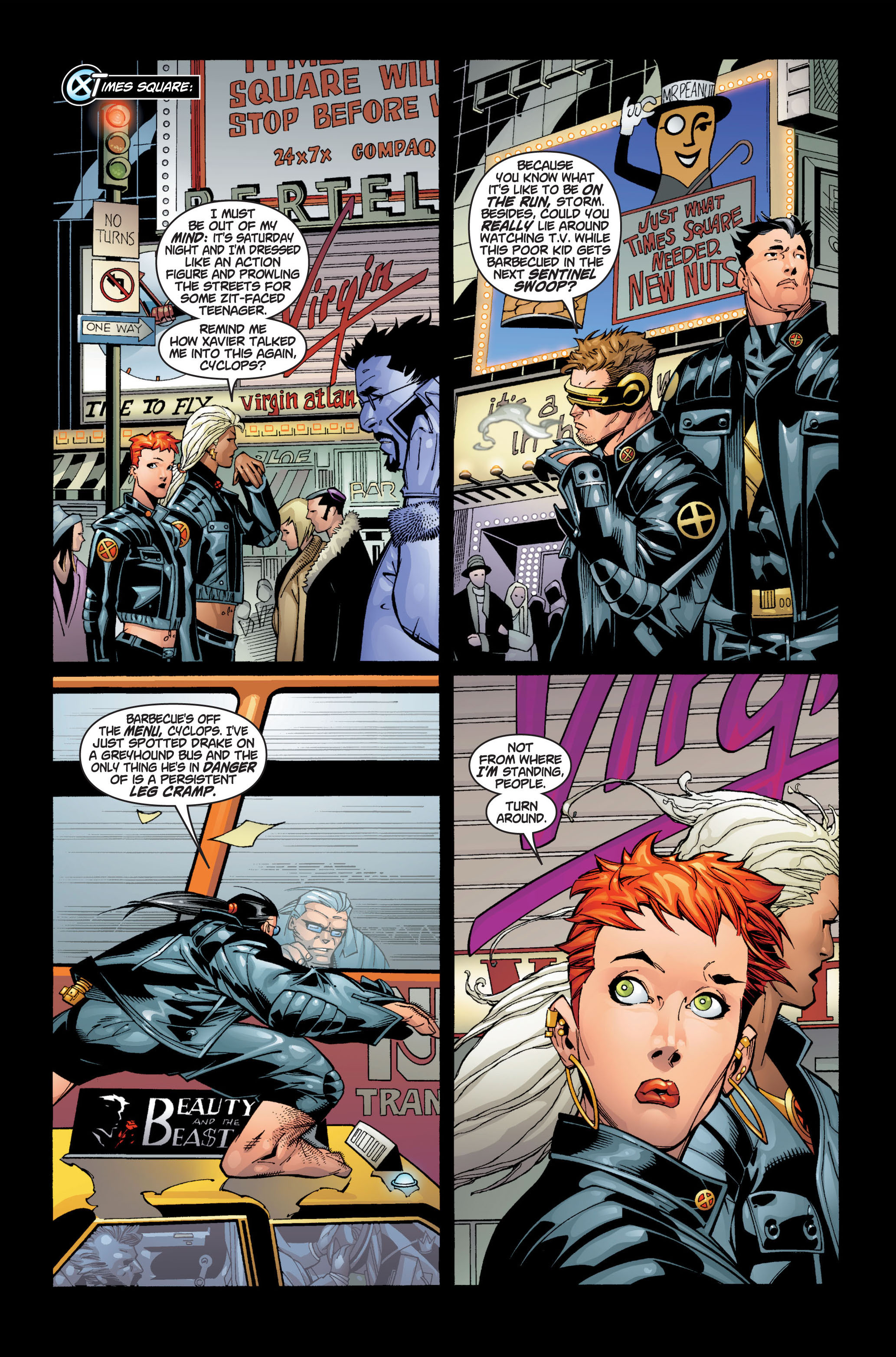 Read online Ultimate X-Men comic -  Issue #1 - 23