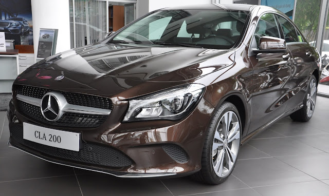 Mercedes CLA 200 2017 thiết kế thể thao