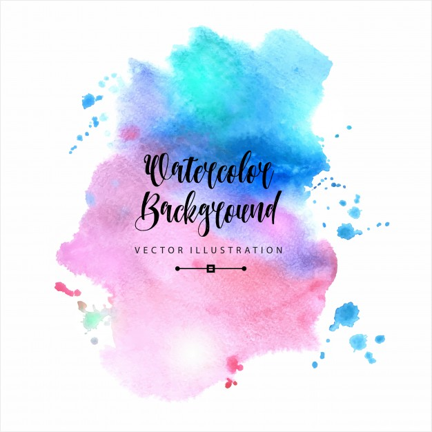 Beautiful abstract watercolor background Free Vector